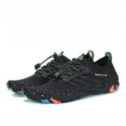 Ademend strand Slippers huid snel drogende schoenen Uutdoor strandsporten duiken Upstream schoenen voor mannen en vrouwen schoen Size:40(Black)