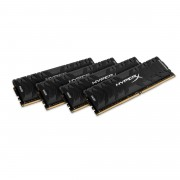 Kingston HyperX Predator DDR4 16 GB : 4 x 4 GB DIMM 288-PIN 3000 MHz PC4-24000 CL15 1.35 V senza buffer non ECC nero