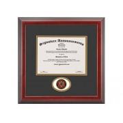 Signature Announcements meharry-Medical-College Undergraduate, Graduate esculpido Foil Sello Diploma Marco, 50.8 x 50.8 cm, Cereza