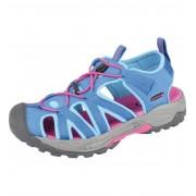 ALPINE PRO LANCASTER Uni letní obuv UBTE008622 tyrkysová 37