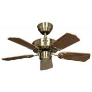 Casafan Ceiling Fan, Royal 75 MA cm, Antique Brass, Oak blades CASAFAN