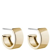 Snö of Sweden Carrie Small Earring, Plain Gold 13mm