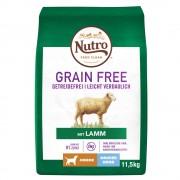 11кг Junior Large Dog Grain Free Nutro, суха храна за кучета с агнешко