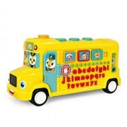 Autobuzul scolar educativ, cu sunete si lumini