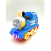 Siddhi VinayakMusical Engine Train with flashing light and sound Baby Toys Figure Pull Back Train Toy Push and Go Friction Powered Cars Fun Toys for Children 1PC(Multi -Color) Ruf N Tuf Plastic Quality Non Toxic in Very Attaractive Color