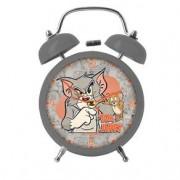 Relogio de Mesa Tom e Jerry Gato e Rato