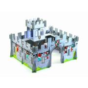 Castel medieval Djeco machetă 3D