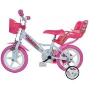 """Bicicleta copii Dino Bikes, Roti 12"""", UNICORN"""