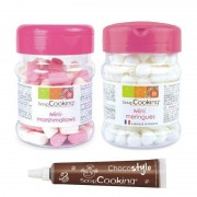 ScrapCooking Mini meringues, mini marshmallows et stylo chocolat