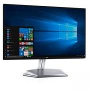 Монитор Dell S2418H, 23.8 инча Wide LED, IPS Anti-Glare, InfinityEdge, AMD Free Sync, HDR, FullHD 1920x1080, 6ms, 1000:1, 8000000:1 DCR, 250 cd/m2, S2