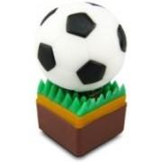 Microware Football Soccer Shape 4 GB Pen Drive(White)