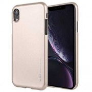 Goospery Matt Cover i Soft TPU för iPhone XR - Gold