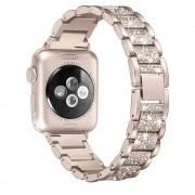 Apple Watch fém óraszíj kövekkel kirakva (4 féle színben)