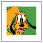 Disney Pluto poster van karton 40 x 40 cm - Action products