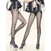 Gerbe - Exclusive sensuous patterned tights Paris by Night