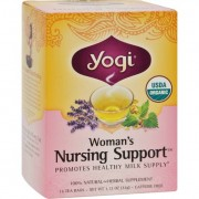 Yogi Organic Woman's Nursing Support - 16 Tea Bags - Case of 6
