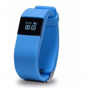 Fit Band Exo Smart E10 Podometro Y Bluetooth Celeste