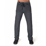 Horsefeathers - rifle ASPHALT DENIM PANTS dark gray 28 Velikost: 36