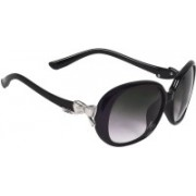Hawai Over-sized Sunglasses(Black)