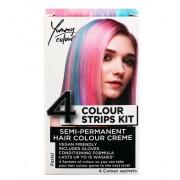 Vopsea de păr STAR GAZER - Yummy Colour 4 Colour Strips Kit - Pastel - SGS234