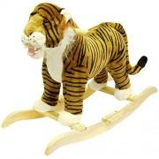 "HAPPY TRAILSâ""¢ Tiger Plush Rocking Animal"