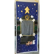 Come To The Manger Nativity Children's Doorway Puppet Theatre With Puppets