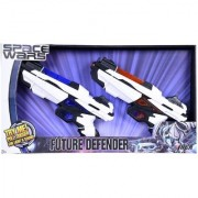 Space Wars Series Planet Of Toys Space Weapon Set 2 Guns 28Cms Combo (Led Light And Sound)