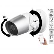 7links Outdoor-IP-Überwachungskamera, Full HD, WLAN, kompatibel zu Alexa Show