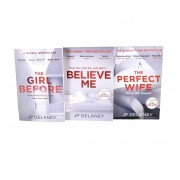 Quercus Books JP Delaney Collection 3 Books Set - Believe Me, The Girl Before, The Perfect Wife - Paperback - Young Adult