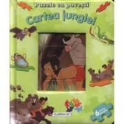 Cartea junglei. Puzzle cu povesti