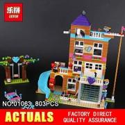 Generic Lepin 01063 808Pcs Girl Series The Friendship House Set Building Blocks Bricks Educational Toys as Kids Birthday Gifts 41340