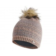 Women's Vitalize Faux Fur Bobble Hat Mink Pink