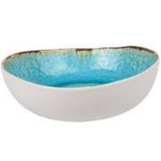 Cosy & Trendy Laguna Azzuro slakom 21 cm blauw wit