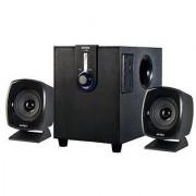 Intex IT-1666 OS Laptop/Desktop Multimedia Speaker (Black 2.1 Channel)
