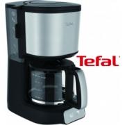 Cafetiera Tefal CM4708 1000W 1.25 L 10-15 cesti selector de aroma oprire automata functie antipicurare Negru/Inox