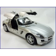 Officially Licensed Mercedes-Benz SLS AMG 1:14 Scale Ready To Run w/ Opening Gull Wing Doors (Colors Red)
