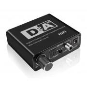 Digitális digitál analóg audio jel átalakitó konverter adapter DAC