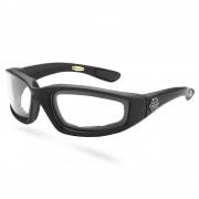 EverShade Gepolsterte Sonnenbrille Mit Transparenten Gläsern