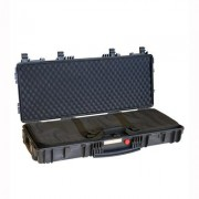 "Explorer Cases Red Explorer Cases With Soft Gun Bag - Ar-15/M4 Red 37"""" Case With Soft Gun Bag Black"