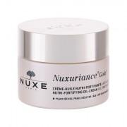 NUXE Nuxuriance Gold Nutri-Fortifying Oil-Cream crema giorno per il viso per pelle secca 50 ml donna