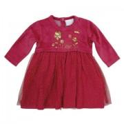 Rochita rosie cu fusta tulle copii