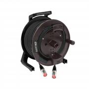 MUSIC STORE CAT5 cable, Ethercon, 25m en Tambor, RJ45, Neutrik