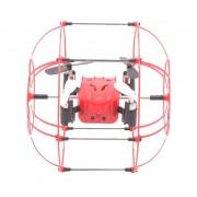 M66 3D Flip 4 Canales 2,4 GHz 6 Ejes Quadcopter FPV Radio Control Con Luz LED Y El Controlador Remoto Gyro Y 6 Ejes (rojo)
