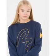 Money, Money Embroidery Crew, Blå, Tröjor/Cardigans till Tjej, 14-15 år