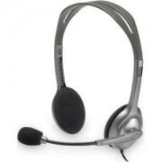 Слушалки Logitec Stereo Headset H110 - 981-000271