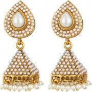 Penny Jewels Traditional Gold Plated Funky Classic Jhumki Earring Set For Women Girls