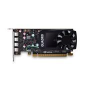 VGA PNY Quadro P600 DVI, nVidia Quadro P600, 2GB 128-bit GDDR5, mDP 4x + adapter to DVI, 12mj (VCQP600DVI-PB)