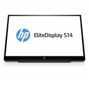 HP EliteDisplay S14 Led Display 14'' Full Hd Opaco Nero