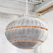 LOBERON Hanglamp Grace / wit