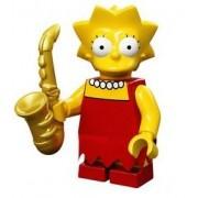 Mini Figurine Lisa Simpson - Lego Minifigures 71005 Les Simpsons Série S